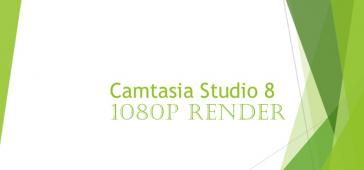 Camtasia Studio 1080p