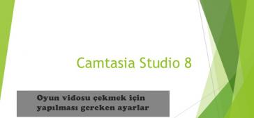 Camtasia Oyun Videosu