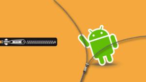 Android Sıkıştırılmış Dosya