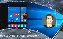 Windows Önbelleği Nasıl Temizlenir