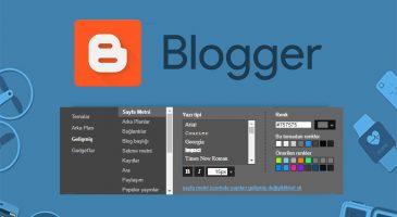 Blogger Yazı Boyutu