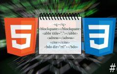 HTML Tırnak ve Alıntı Etiketleri