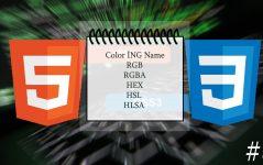 HTML5 Renk Etiketleri