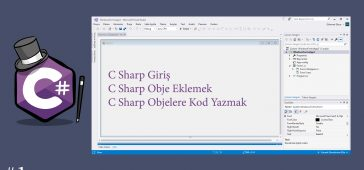 C Sharp Giriş