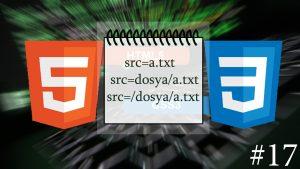 HTML Dosya Yolları
