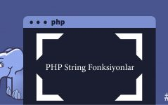 PHP String Fonksiyonlar