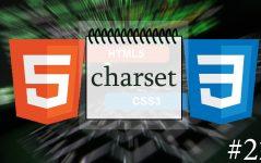 HTML5 Charset