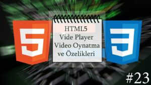 html5 video oynatma