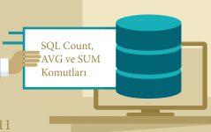 Sql Count, AVG, SUM