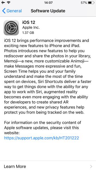 ios 12 update - iPhone Nasıl Güncellenir ? Rehber