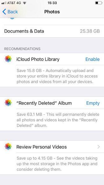 Iphone Fotoğraf Alanı Açma