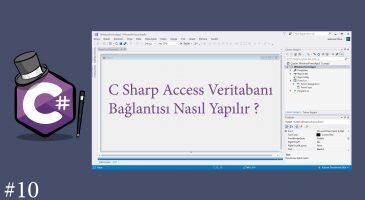 C Sharp Access Bağlantısı