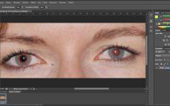 Photoshop Kırmızı Göz