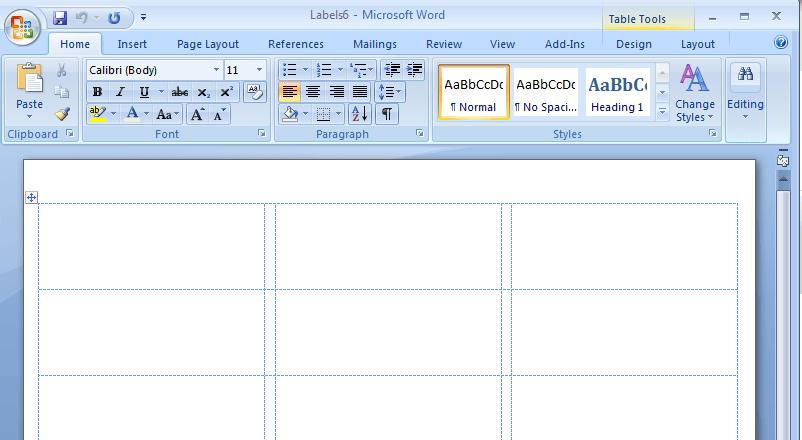Word Etiket Şablonu Nasıl Yapılır Webd 252 Nya