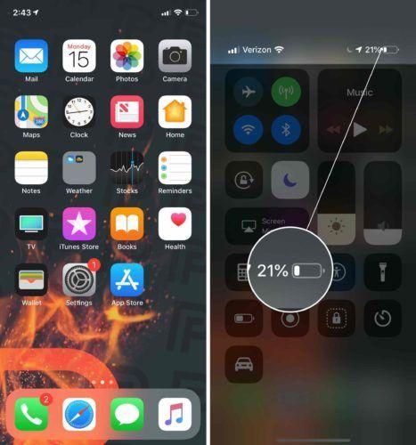 IPhone Pil Yuzdesi 1