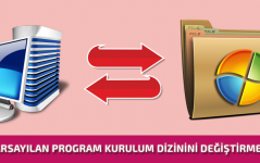Varsayılan Program Klasörü