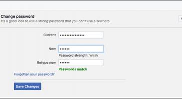 Facebook Şifre Değiştirme Nasıl Yapılır?