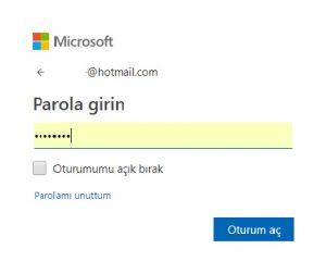 Parola Girme Ekranı 300x252 - Kaybolan Windows 10 PC`yi Uzaktan Kilitleme