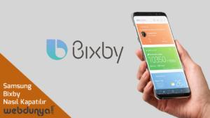 Samsung Bixby Kapatma