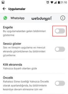Android Whatsapp Bildirimleri Gelmiyor 2 219x300