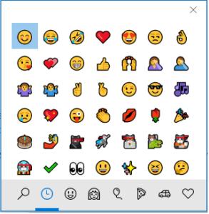 Windows 10 Emoji 293x300