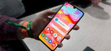 Samsung Galaxy A70 Ekran Görüntüsü Nasıl Alınır