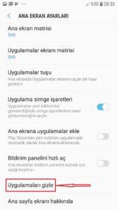 Android Telefonlarda Uygulama Nasil Gizlenir3 169x300