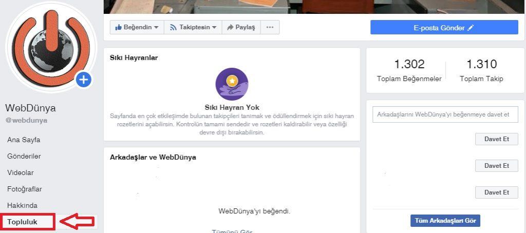 Facebook sayfada siki hayranlari görme 1024x454 - Facebook Sıkı Hayran Rozeti Nedir? Nasıl Alınır?