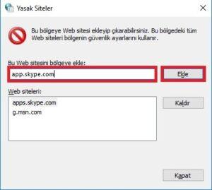 yasakli siteler ekleme sekmesi 300x269 - Skype Reklam Engelleme Nasıl Yapılır?