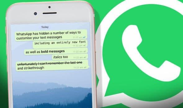 whatsapp kalin yazma nasil yapilir