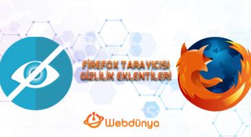 firefox tarayicisi icin onemli gizlilik eklentileri 365x200 - Firefox Tarayıcısı için önemli Gizlilik Eklentileri