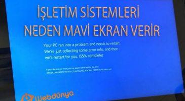 isletim sistemleri neden mavi ekran hatasi verir 365x200 - İşletim Sistemleri Neden Mavi Ekran Verir?