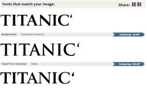 yazi tipi bulma sonuc 300x183 - Resimden Yazı Tipi Bulma