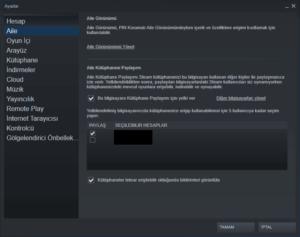 steam oyun paylasimi nasil yapilir1