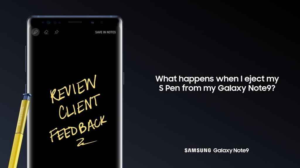 Ekran Kapalı Notu 1024x576 - Samsung Galaxy Note S Pen Kullanımı