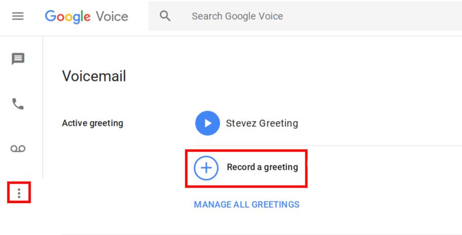 Google Voice ile Kaydetme