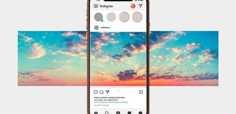 Instagram Panoramik Fotoğraf Nasıl Oluşturulur