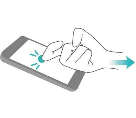 Parmak Eklemi ile Ekran Görüntüsü Alma