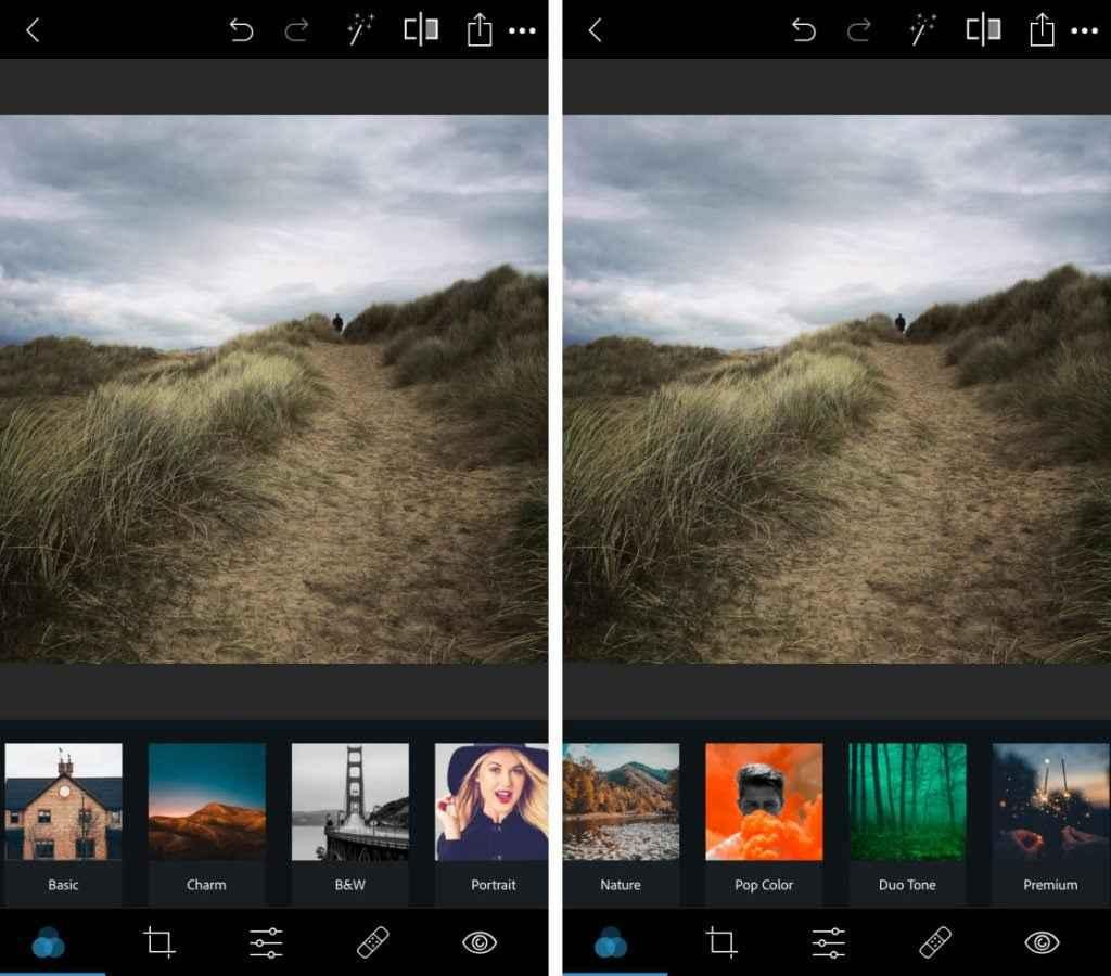 Photoshop Express ile Fotoğrafları Ters Çevirme 1024x900 - iPhone'da Fotoğrafları Ters Çevirme