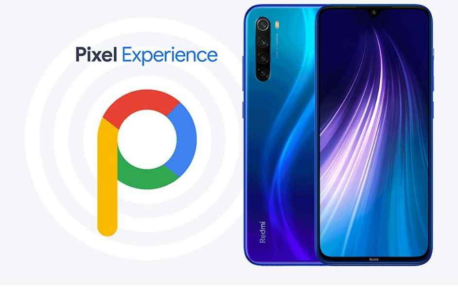 Pixel Experience ROM Redmi note 8