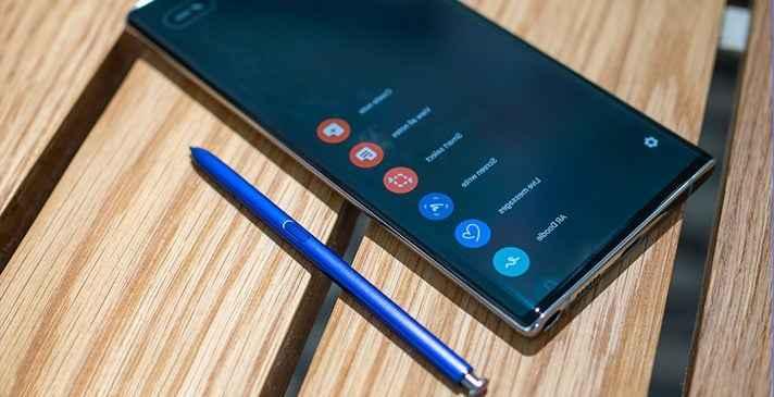 Samsung Galaxy Note S Pen Kullanımı