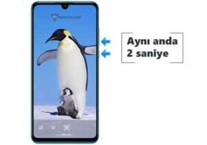 3 Huawei P30 Pro Ekran Görüntüsü Alma