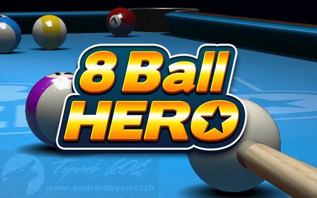 8 ball hero - 2020 Android En İyi Yetişkin Oyunları Listesi 12 Tavsiye