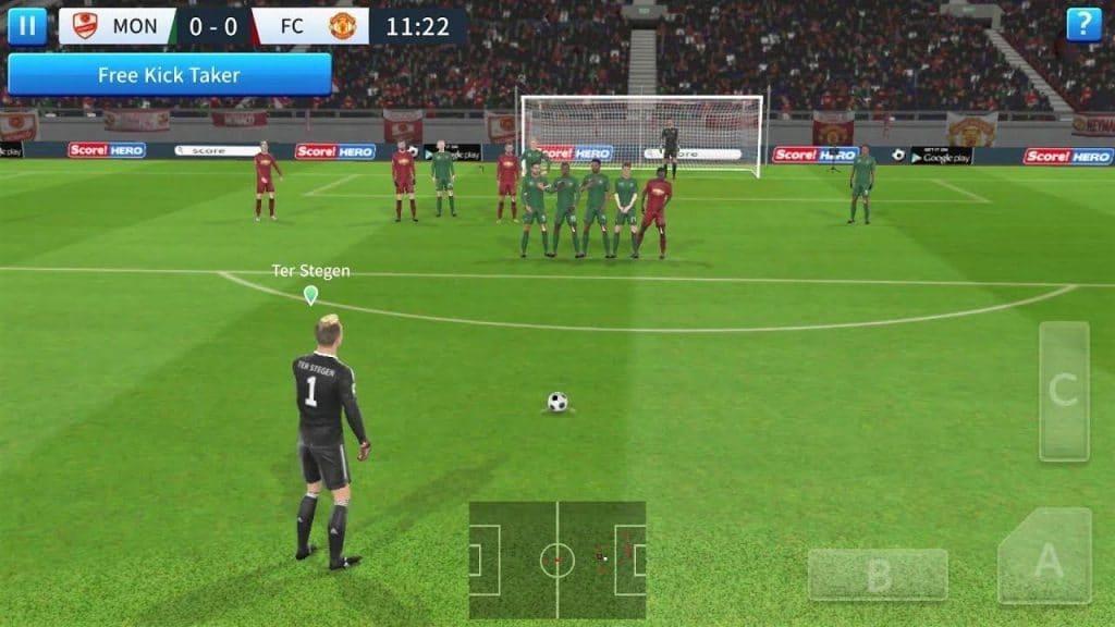 mobil futbol oyunu