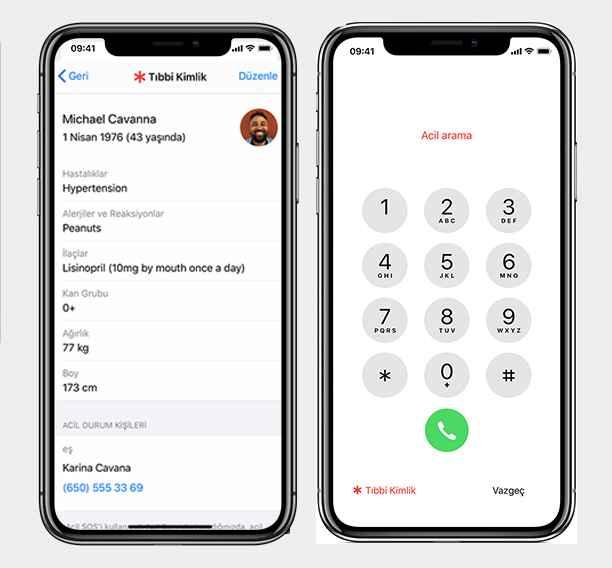tıbbi kimlik oluşturma - iPhone Sağlık Uygulaması Nasıl Kullanılır?