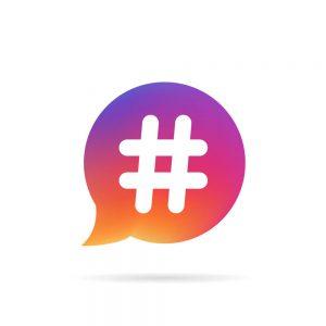 hashtag işareti