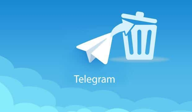 telegram silme